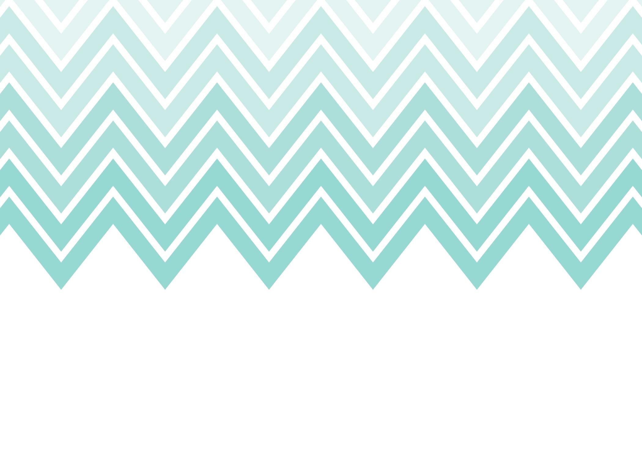 Aqua And Gray Chevron Wallpaper Wallpapersafari