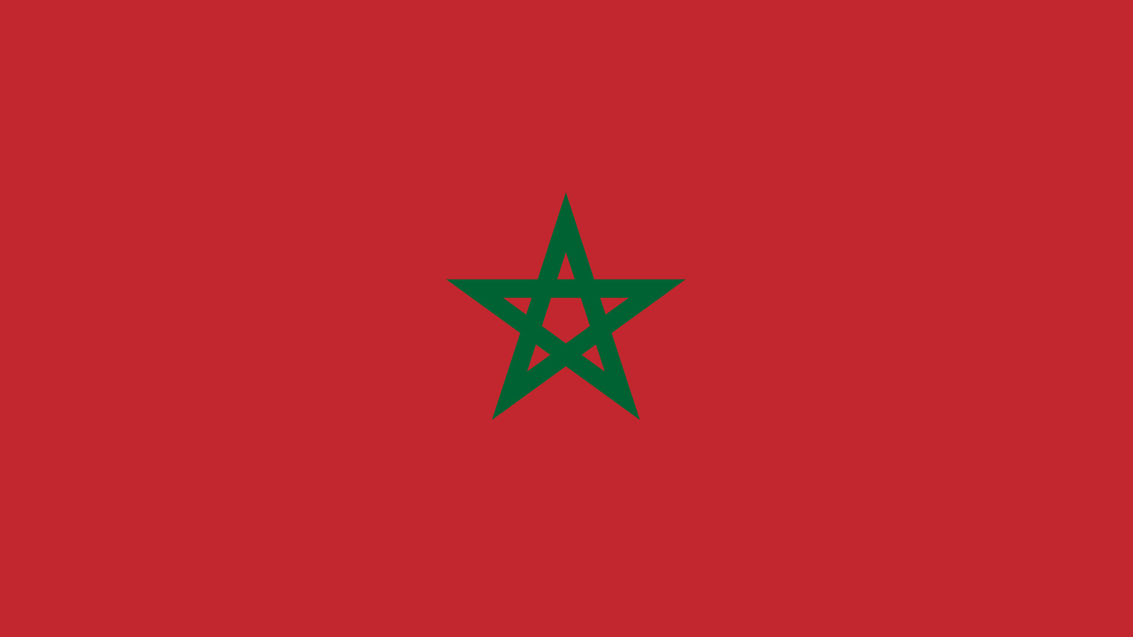 Morocco Flag UHD 4K Wallpaper Pixelz 3840x2160