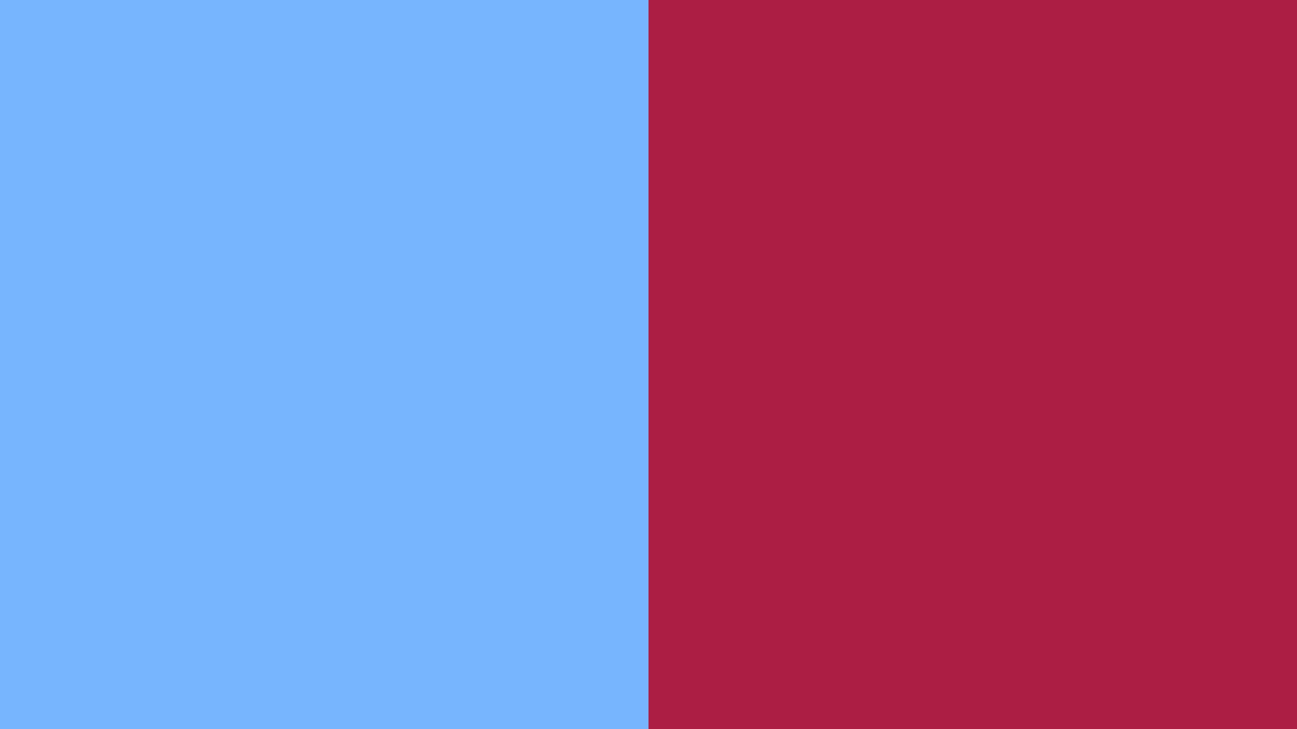 resolution French Sky Blue and French Wine solid two color background 2560x1440