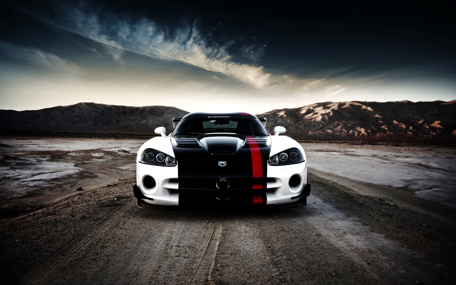 White Dodge Viper Acr HD Wallpapers Download Wallpapers in HD for 1600x1000