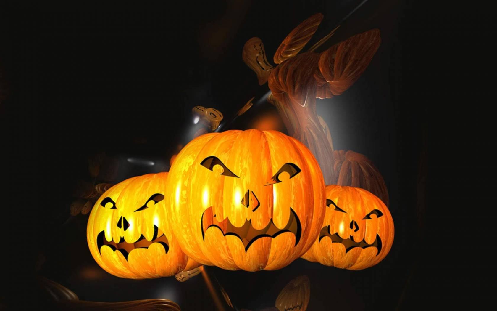 20 Happy Halloween 2014 HD Wallpapers 1680x1050