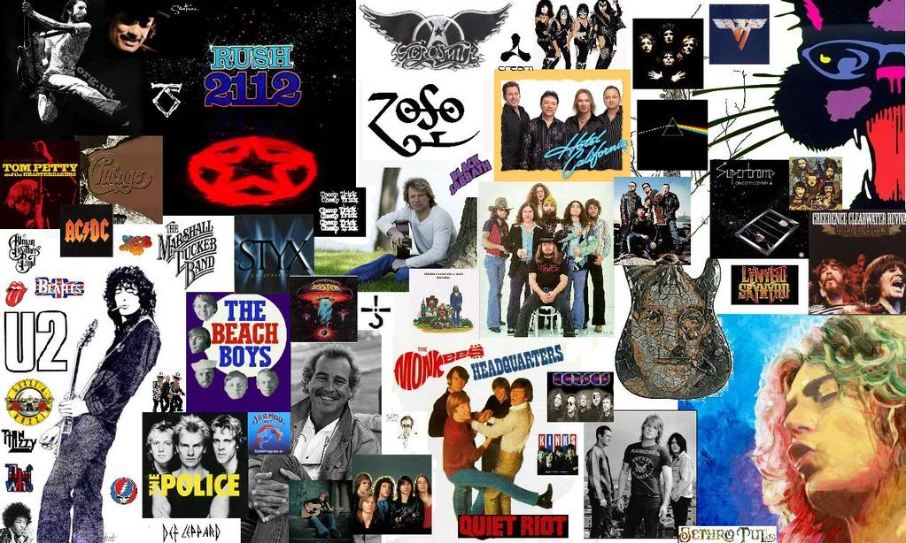 80s Rock Legends Wallpaper Background Theme Desktop 1023x614