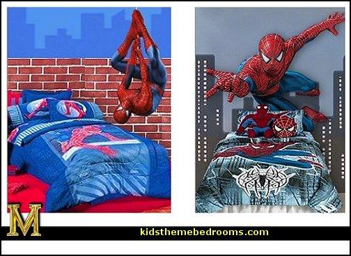 spiderman bedroom decorating ideas   spiderman room decor   Spiderman 504x368