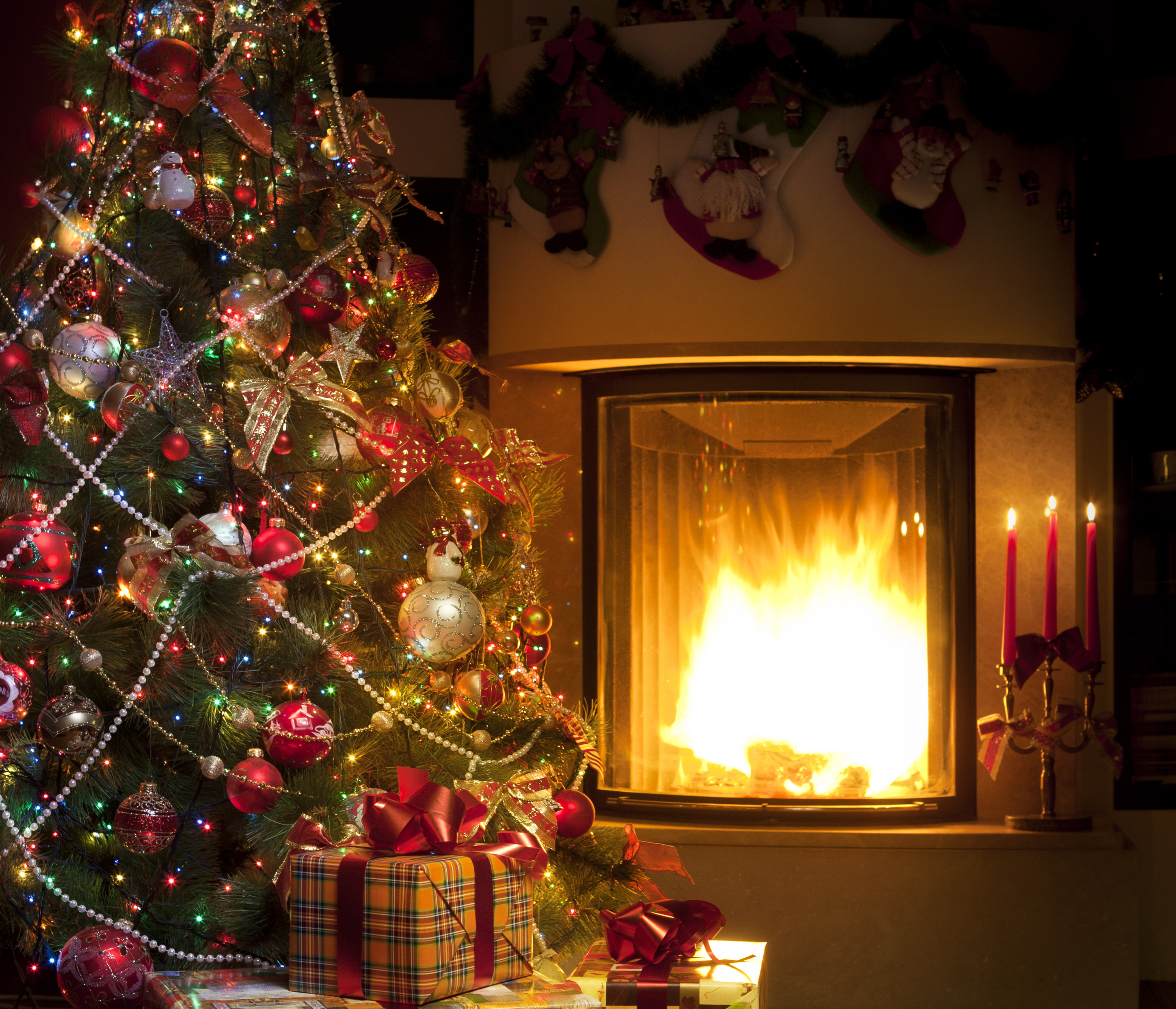 175 Fireplace HD Wallpapers Background Images 5590x4796