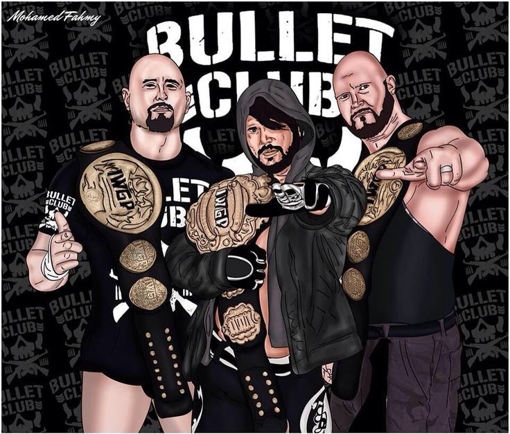 bullet club wallpaper wallpapersafari