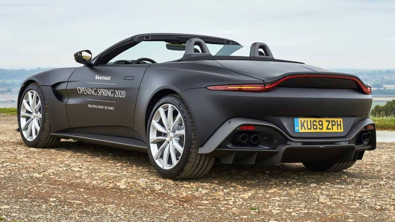 Aston Martin Vantage Roadster Previewed In Official Images 1280x720