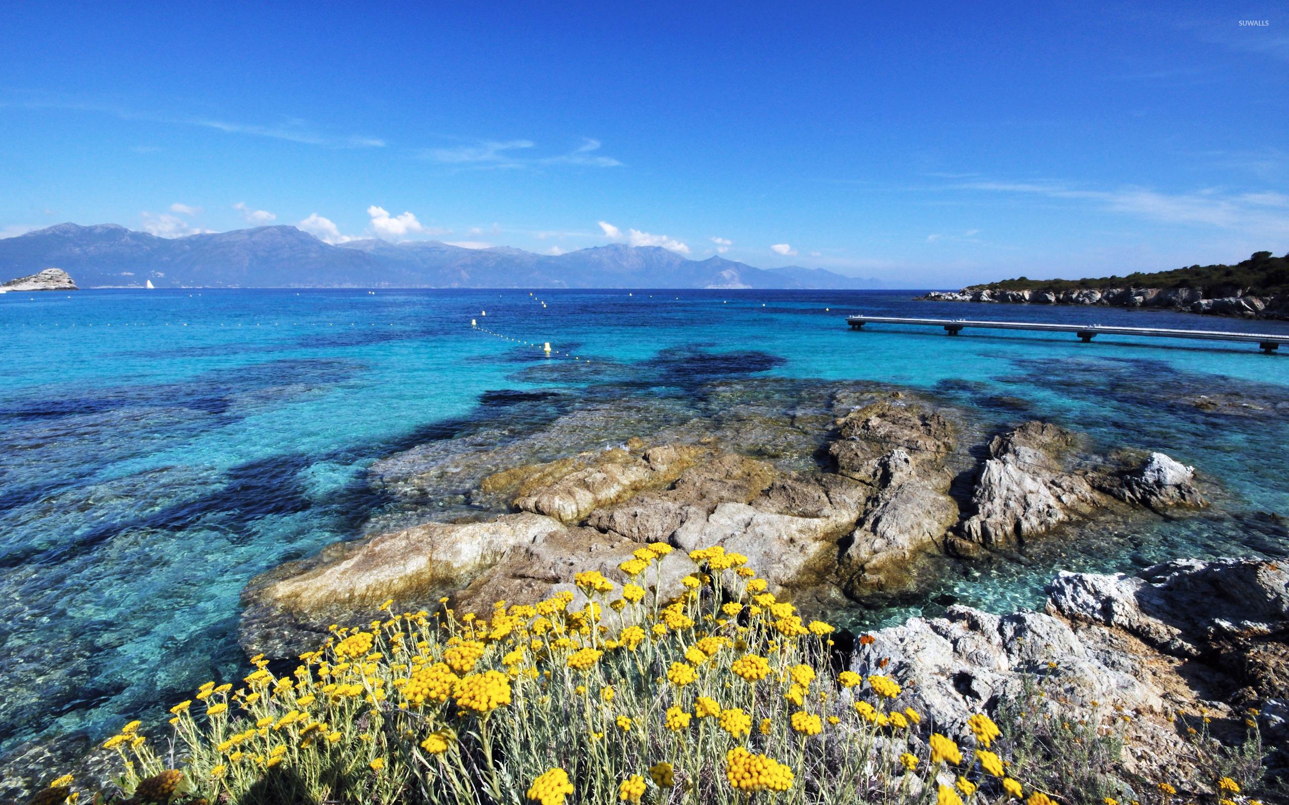 Corsica [4] wallpaper   Beach wallpapers   13593 2560x1600
