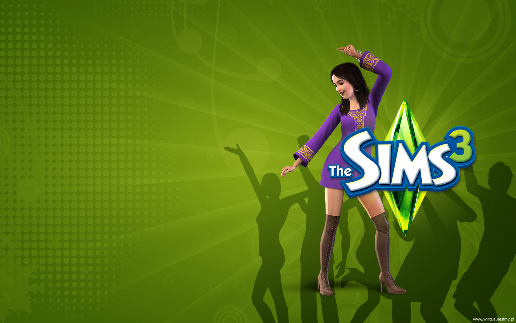 sims 3 wallpaper 19625500 fanpop fanclubs tapety the sims 3 wallpaper 1680x1050