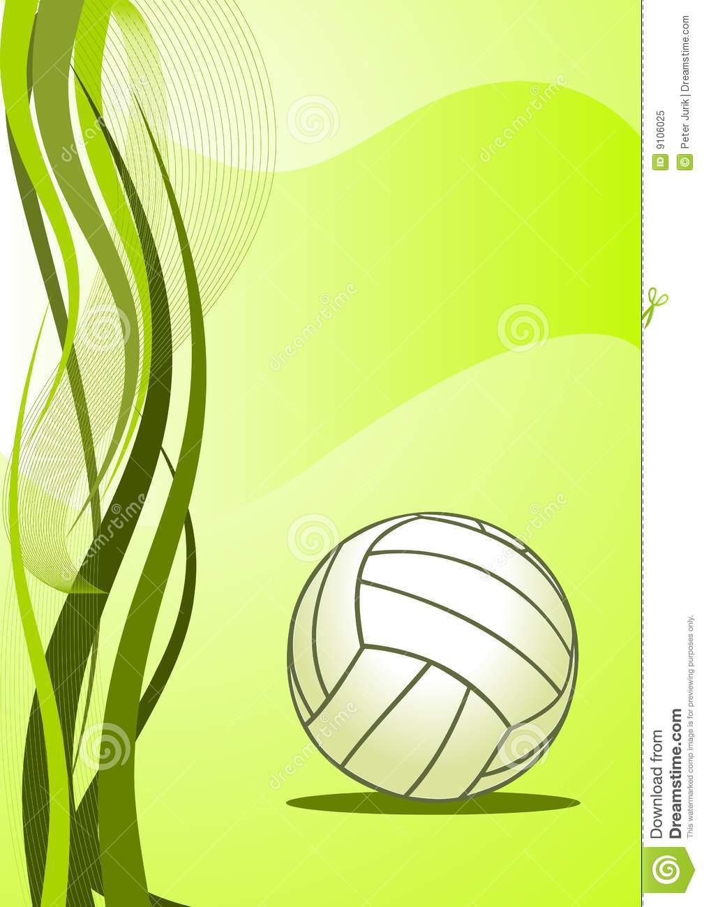 Vector Volleyball Background Royalty Stock Photo   Image 9106025 1009x1300