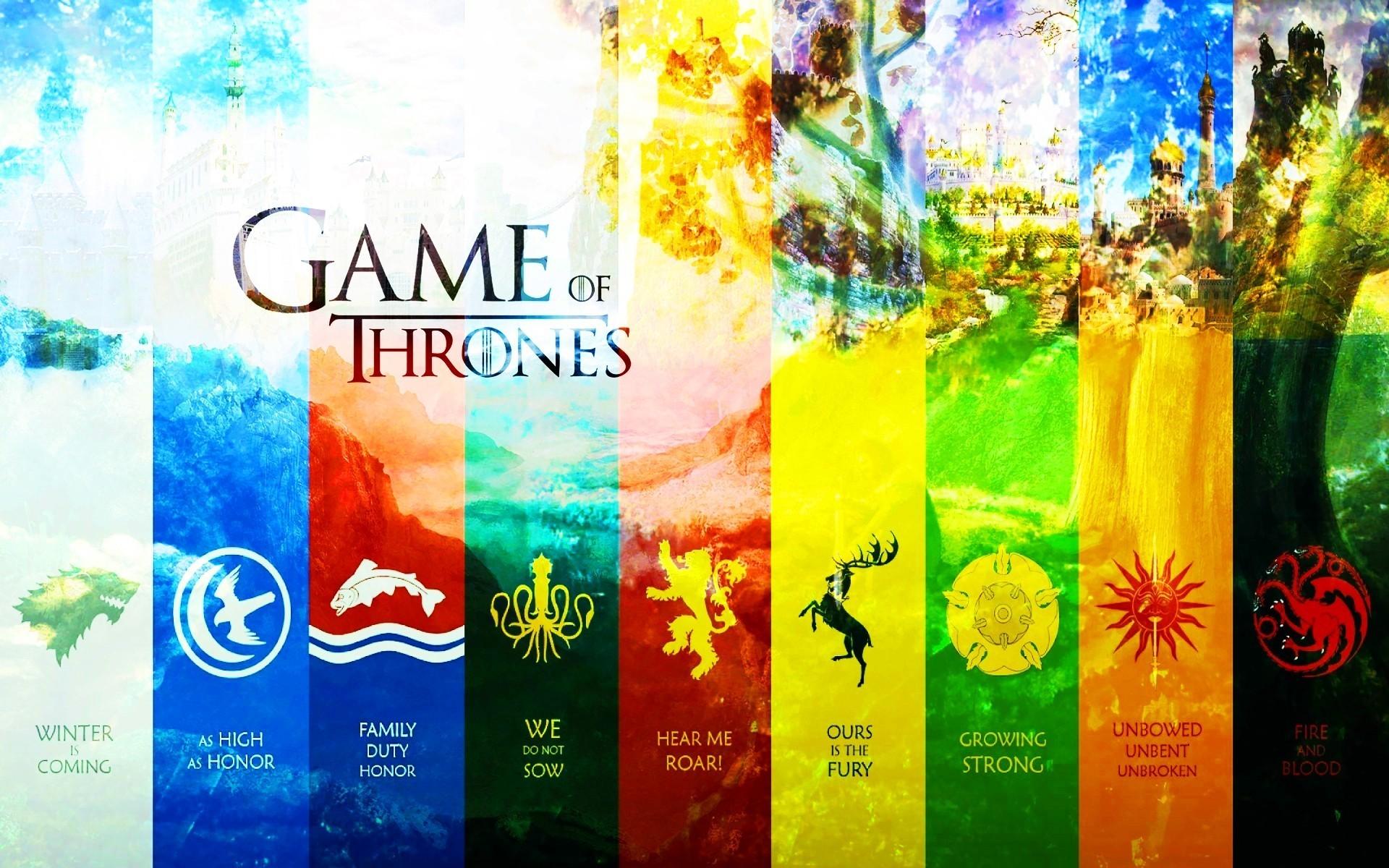 Game of thrones house arryn baratheon greyjoy lannister wallpaper 1920x1200