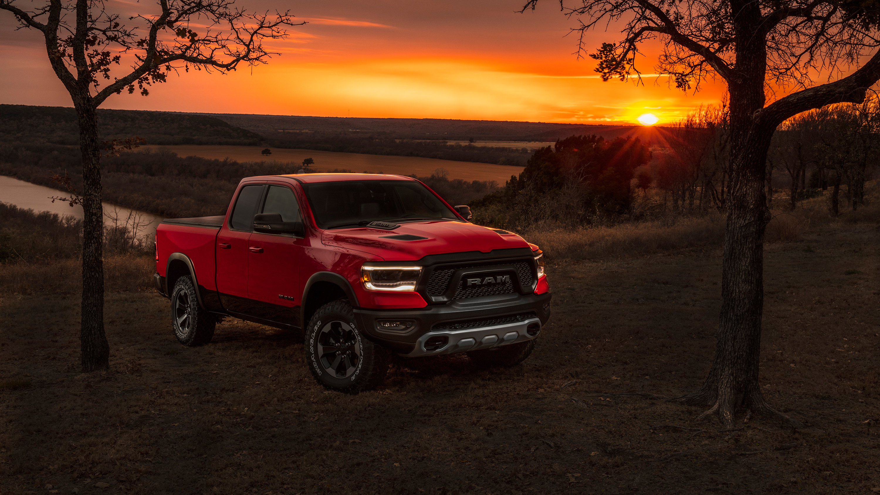 2019 Ram 1500 Rebel Quad Cab 3 Wallpaper HD Car 3000x1688