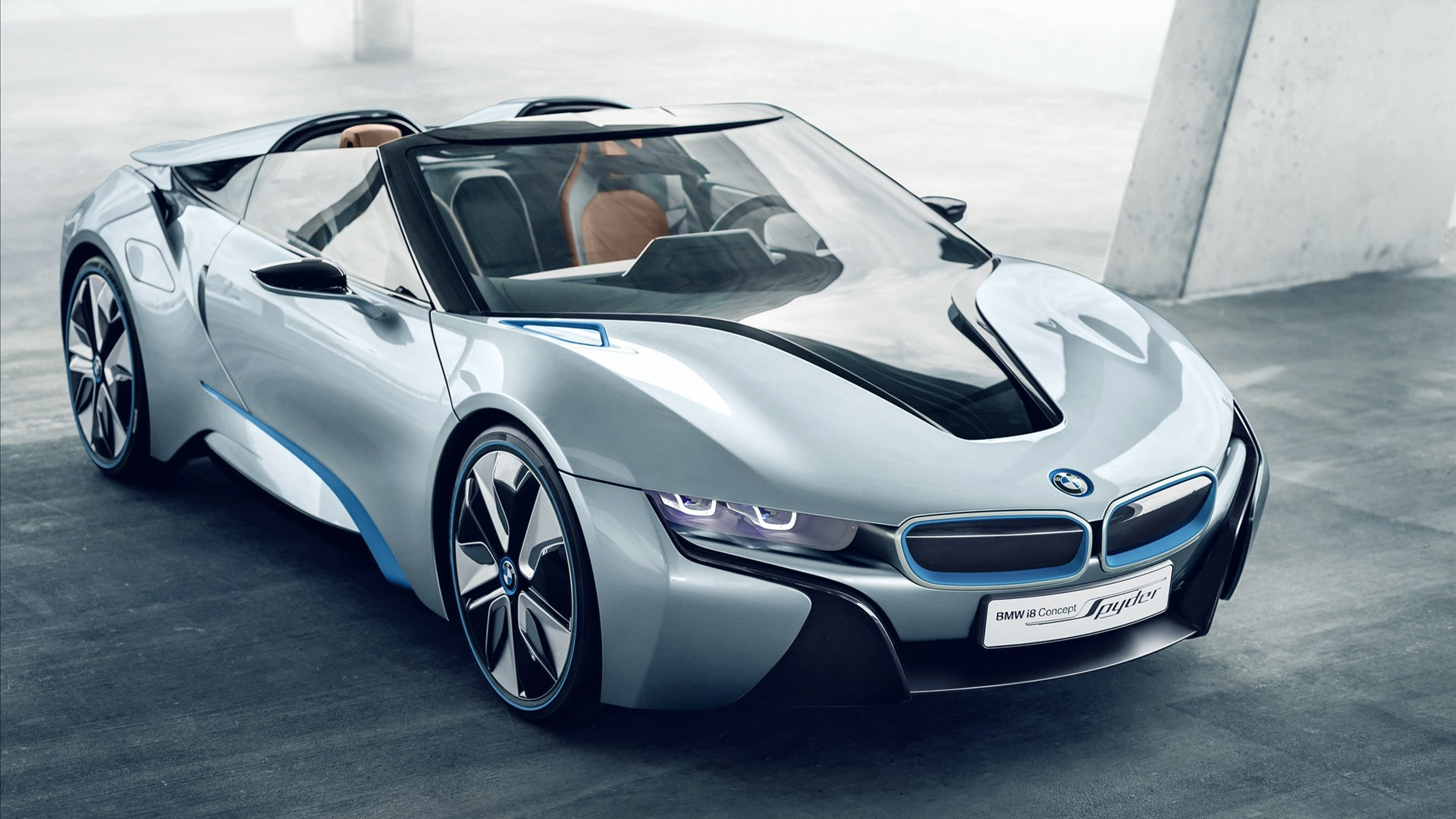 BMW i8 Spyder Concept Car Wallpapers HD Wallpapers 1920x1080