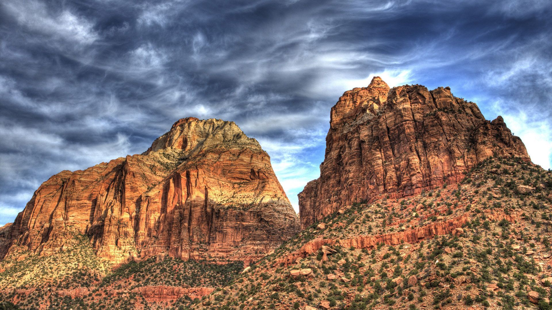 Zion National Park Utah HD Wallpaper 1920x1080 1920x1080