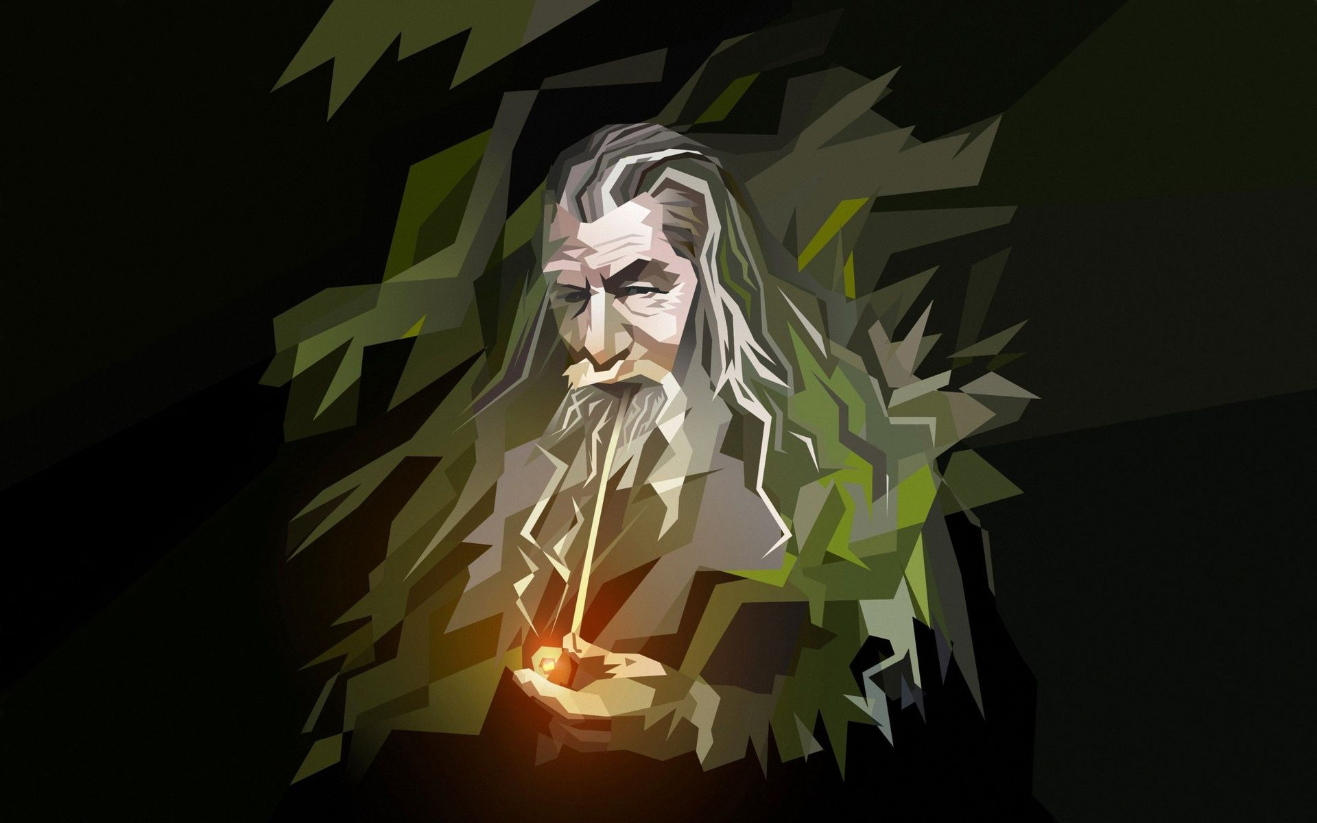 Download Gandalf   The Lord of the Rings wallpaper 1920x1200