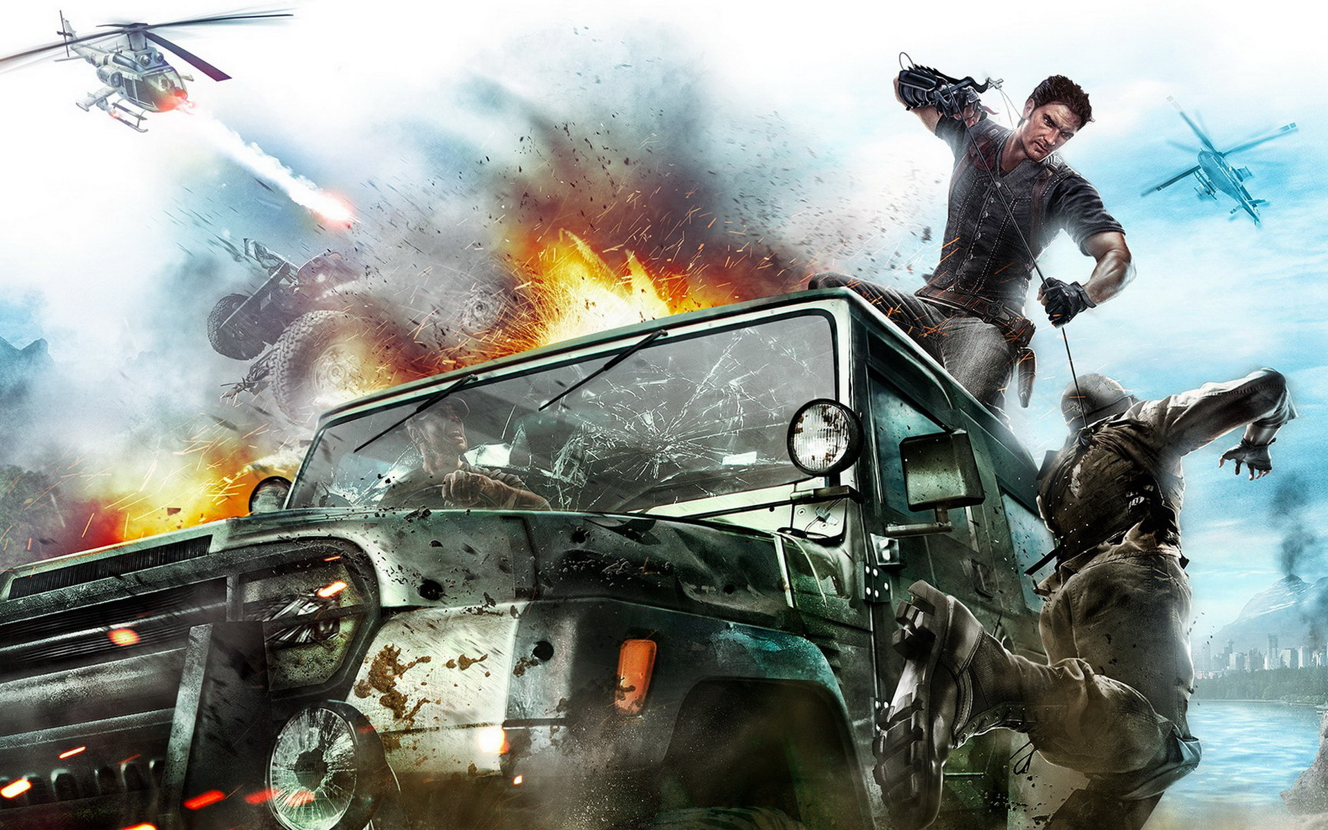 Just Cause 2 Game WALLPAPER 1920x1200