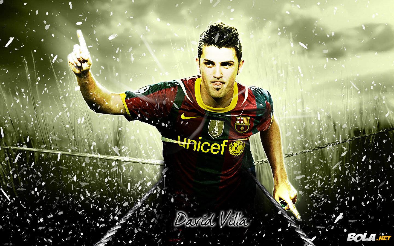 David Villa FC Barcelona Wallpaper   David Villa Wallpaper 1440x900