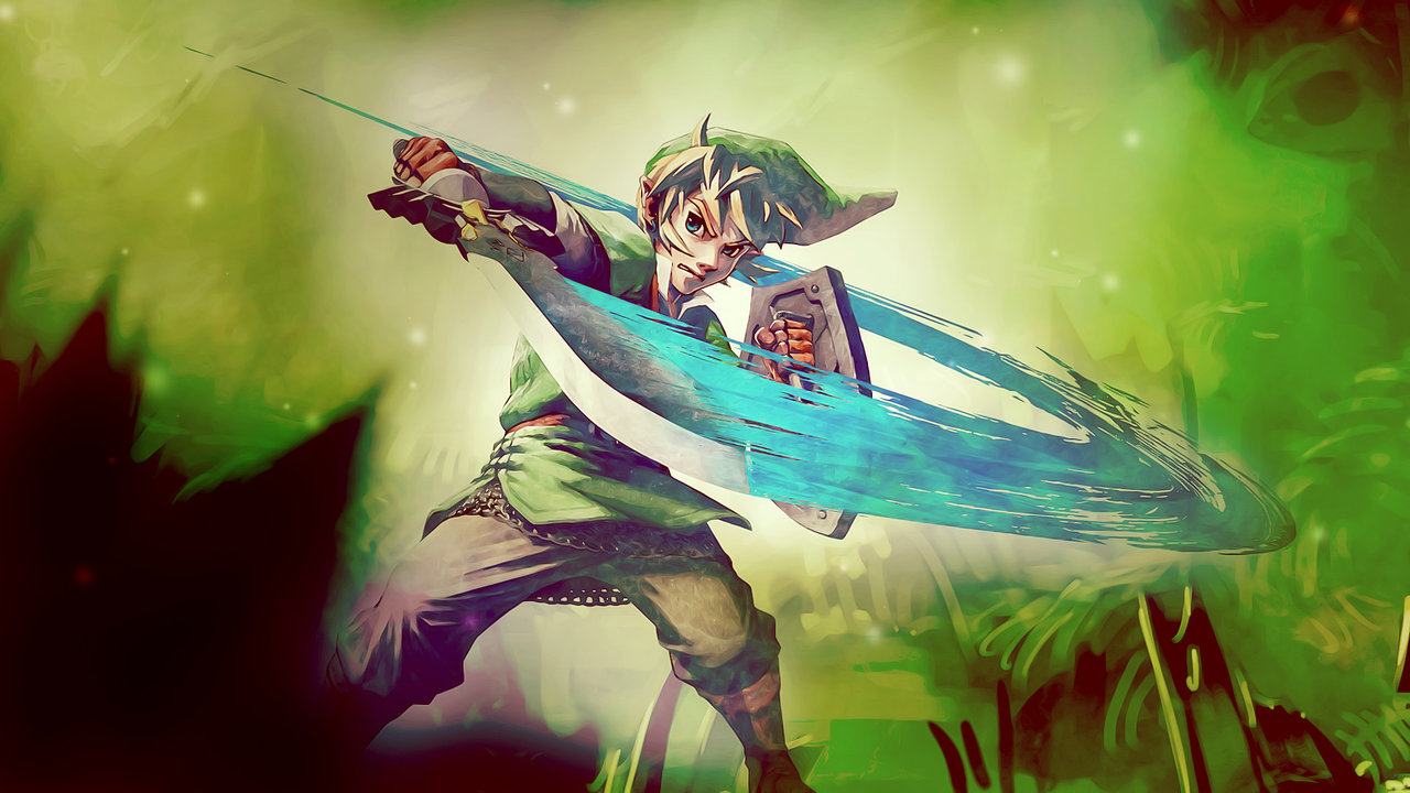 Zelda Skyward Sword Wallpapers in HD 1280x720