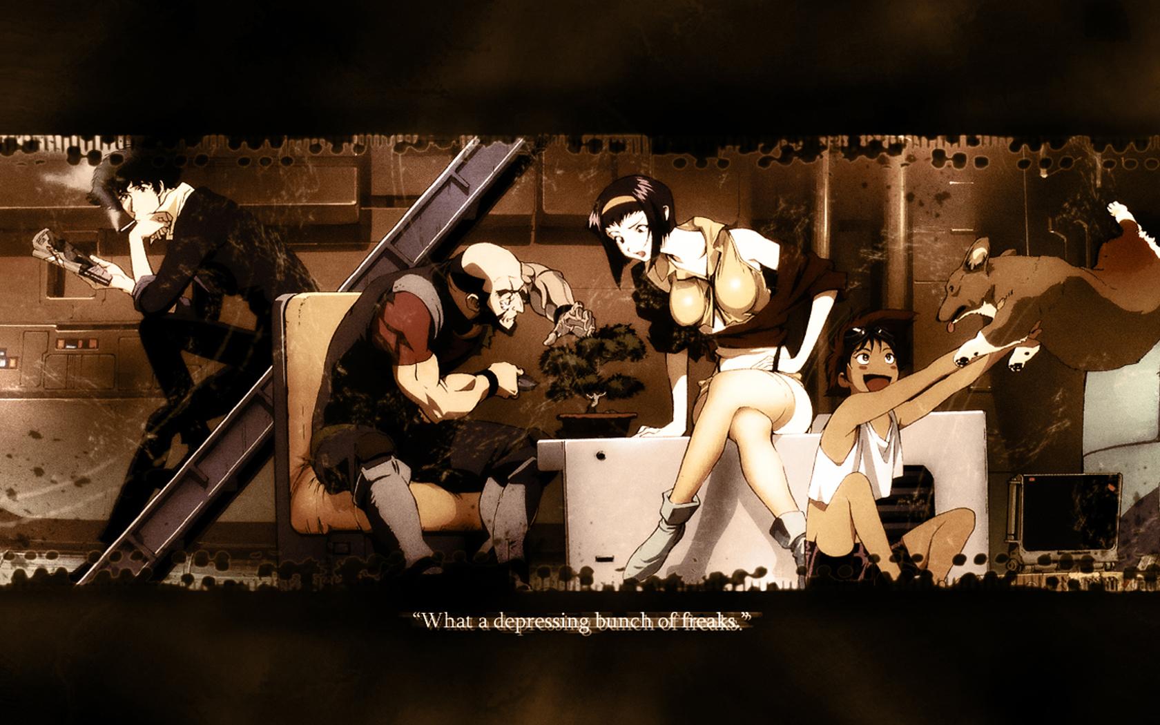 Anime   Cowboy Bebop Cowboy Bebop Spike Anime Wallpaper 1680x1050