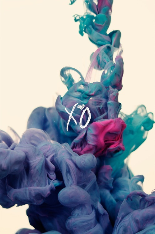 Xo Pink And Blue Smoke Wallpaper Colour Inspiration Color Art