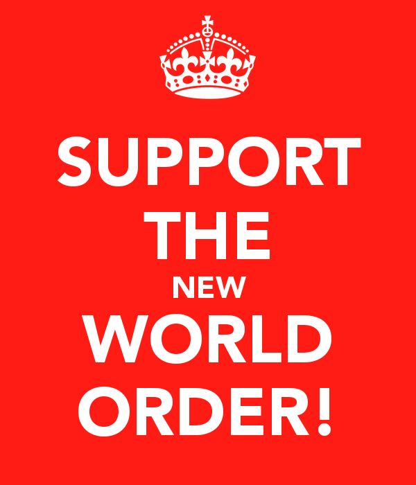 SUPPORT THE NEW WORLD ORDER   KEEP CALM AND CARRY ON Image Generator 600x700