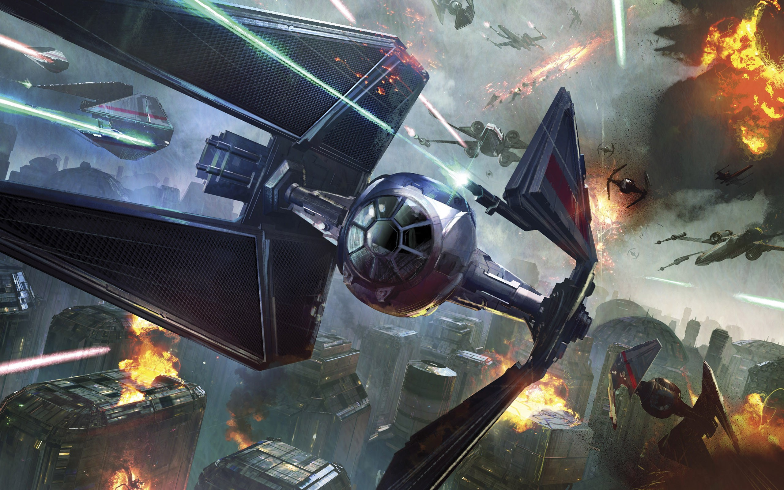 Star Wars Space Battle Wallpaper 61 images 2560x1600
