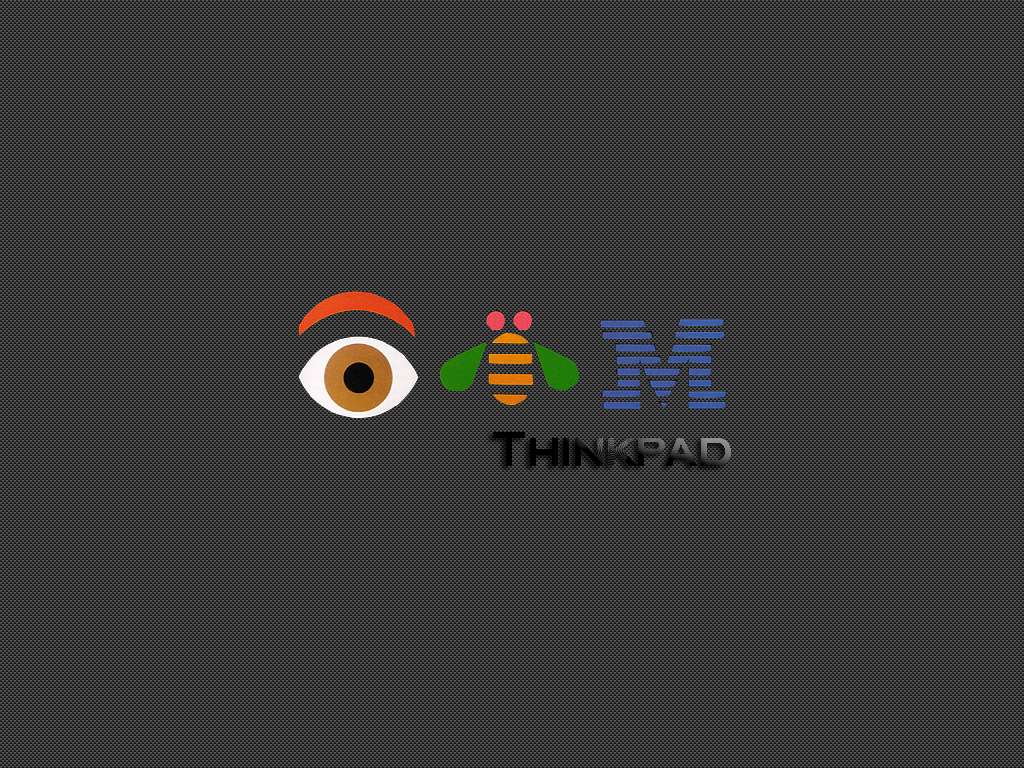 IBM Thinkpad Wallpaper by r1ckchard 1024x768