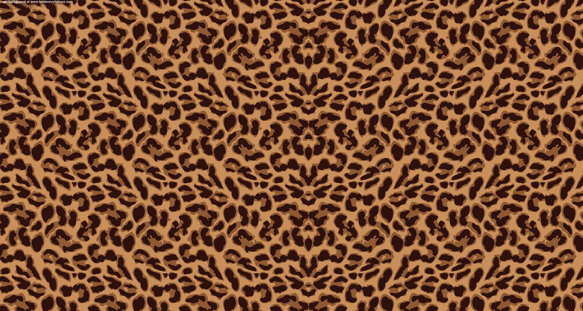 Free download leopard print twitter background [1920x1024 ...