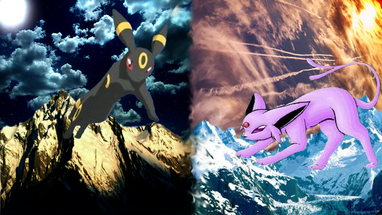 Umbreon And Espeon Wallpaper Umbreon and es 1280x720