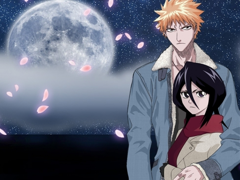Bleach Ichigo And Rukia Images Ichiruki 4ever Wallpaper Photos 800x600
