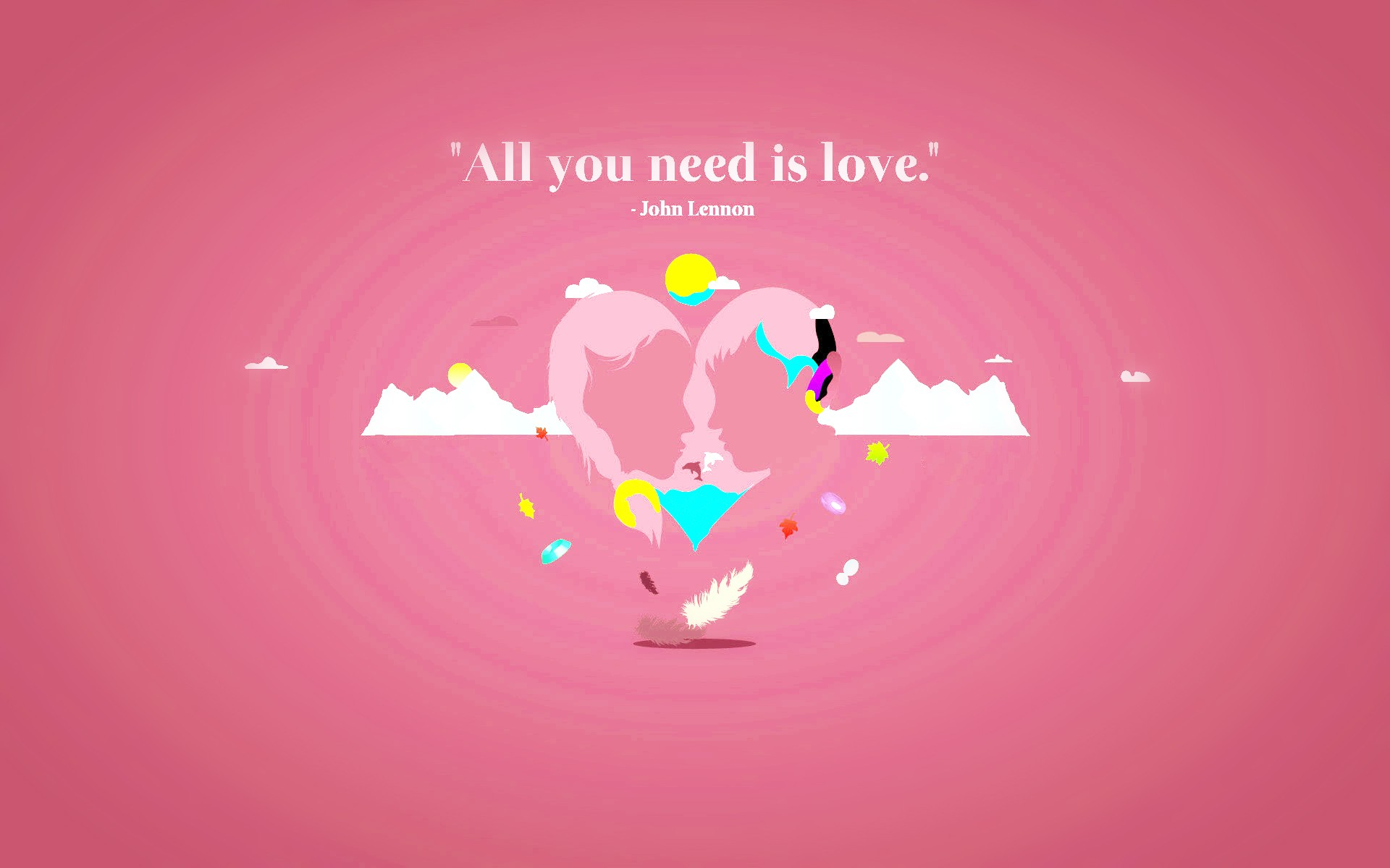 Hd wallpaper you need - All You Need Is Love Valentines Hd Wallpaper New Hd Wallpapers