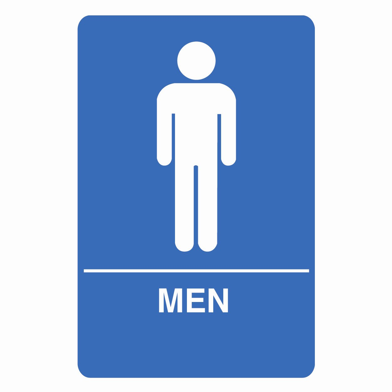 Male Bathroom Signs at ATG Stores 1250x1250