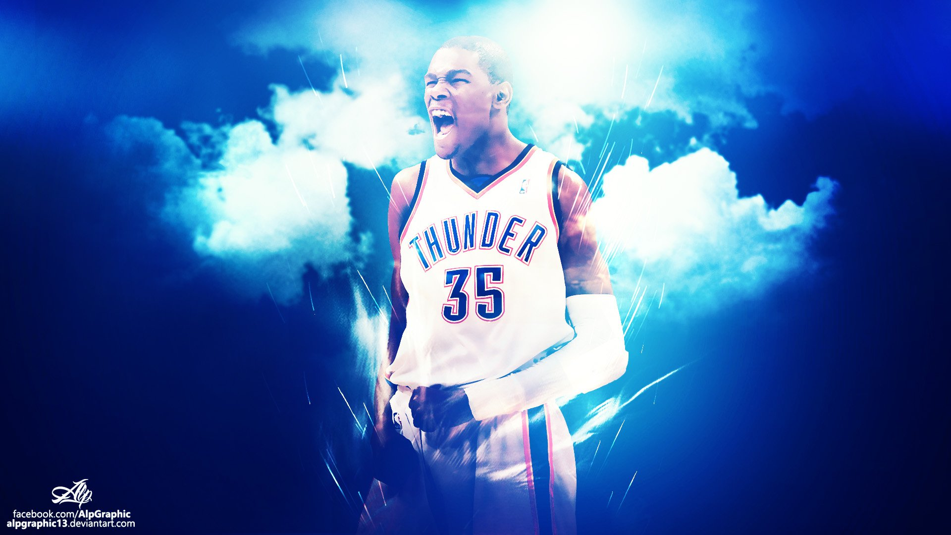 KEVIN DURANT Wallpaper by AlpGraphic13 1920x1080