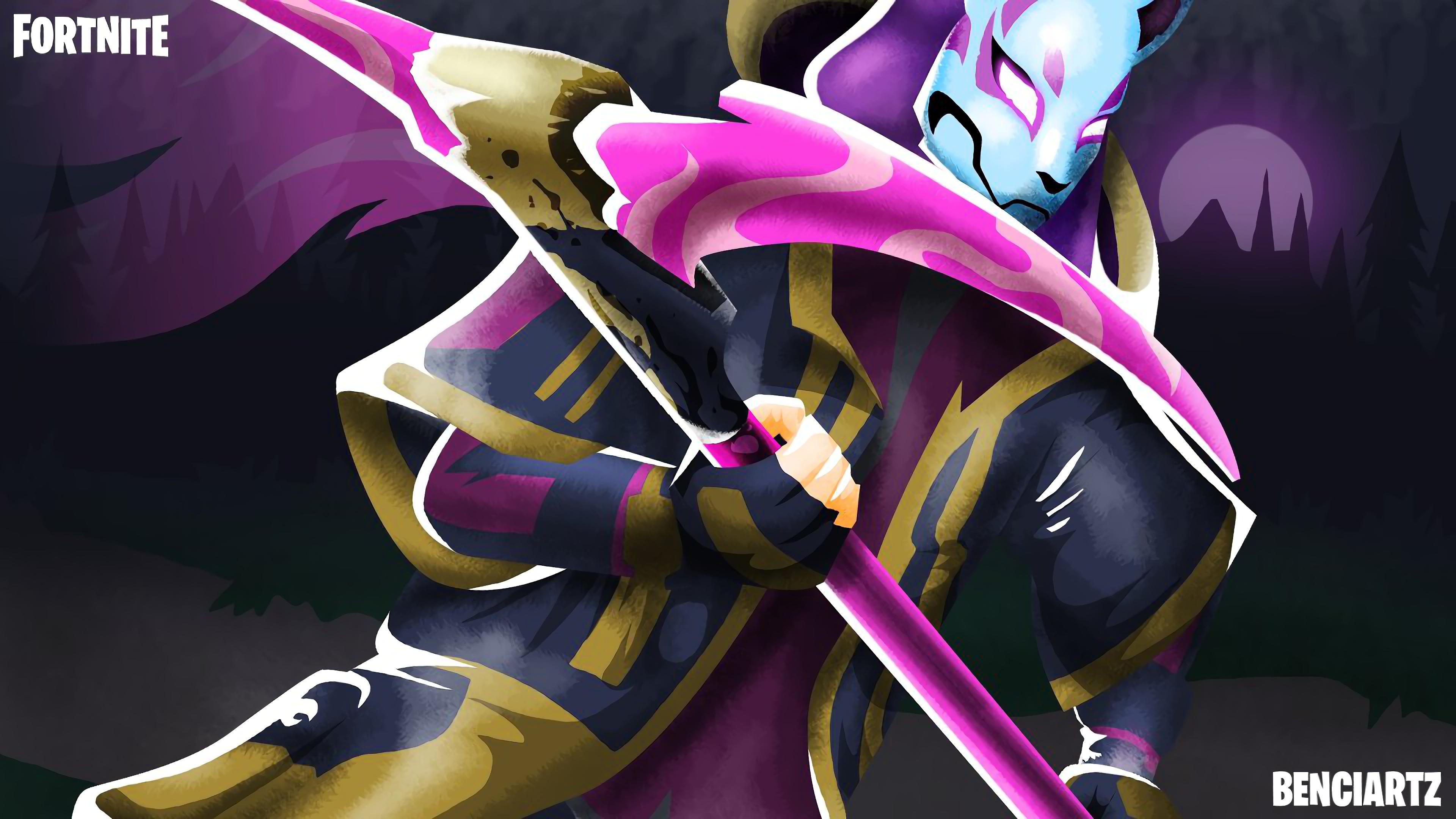 Drift Art Fortnite Battle Royale 4K 22713 3840x2160