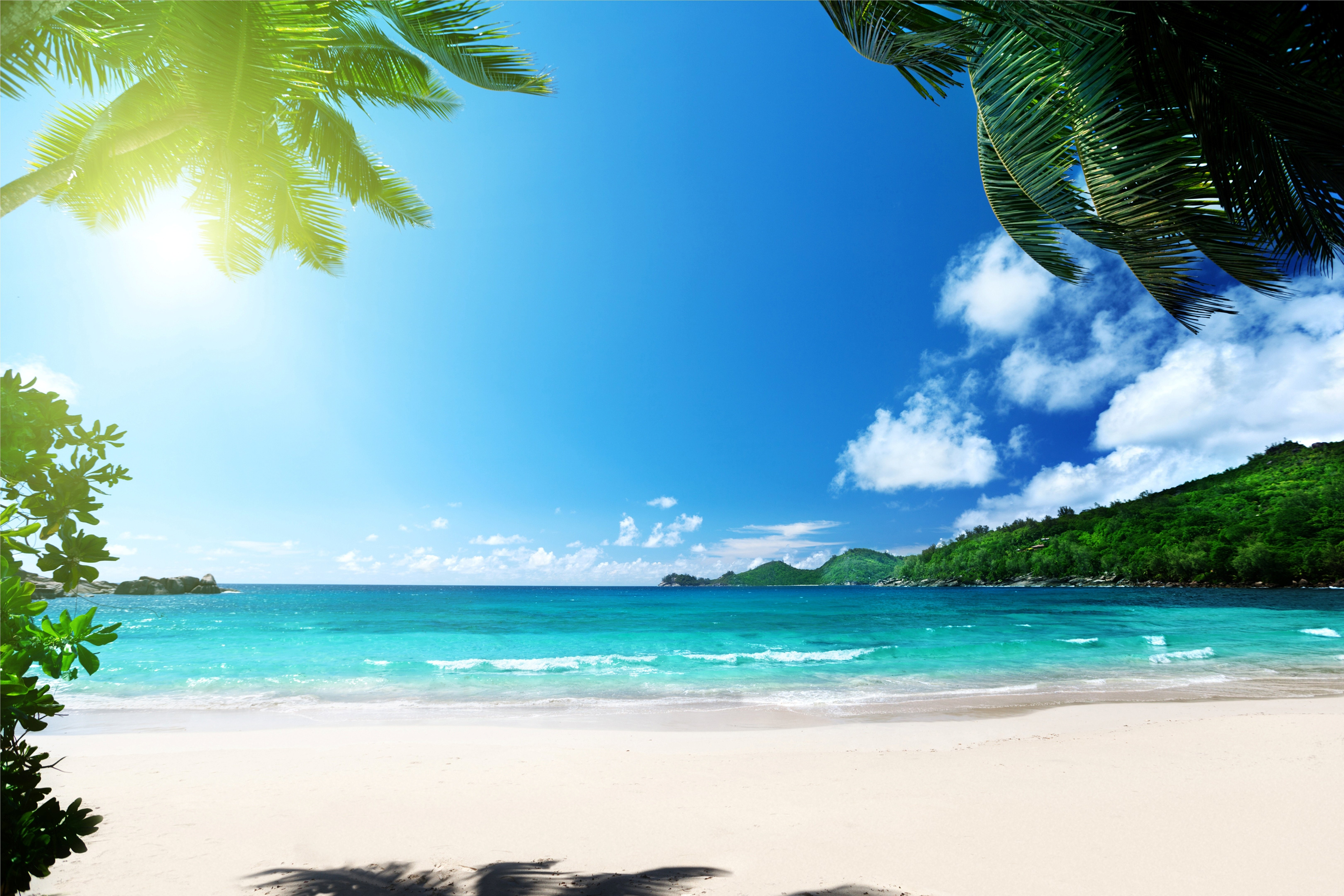 Tropical Beach Wallpapers Pictures Images 6480x4320