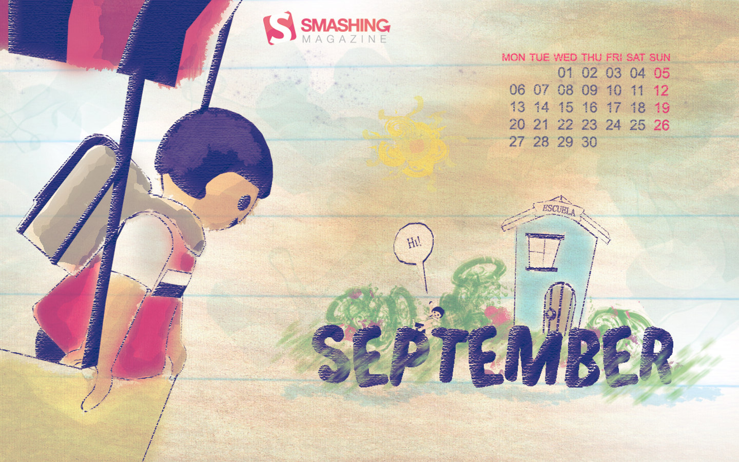 Date of first day of school calendar 14320   Calendar Wallpaper 1440x900