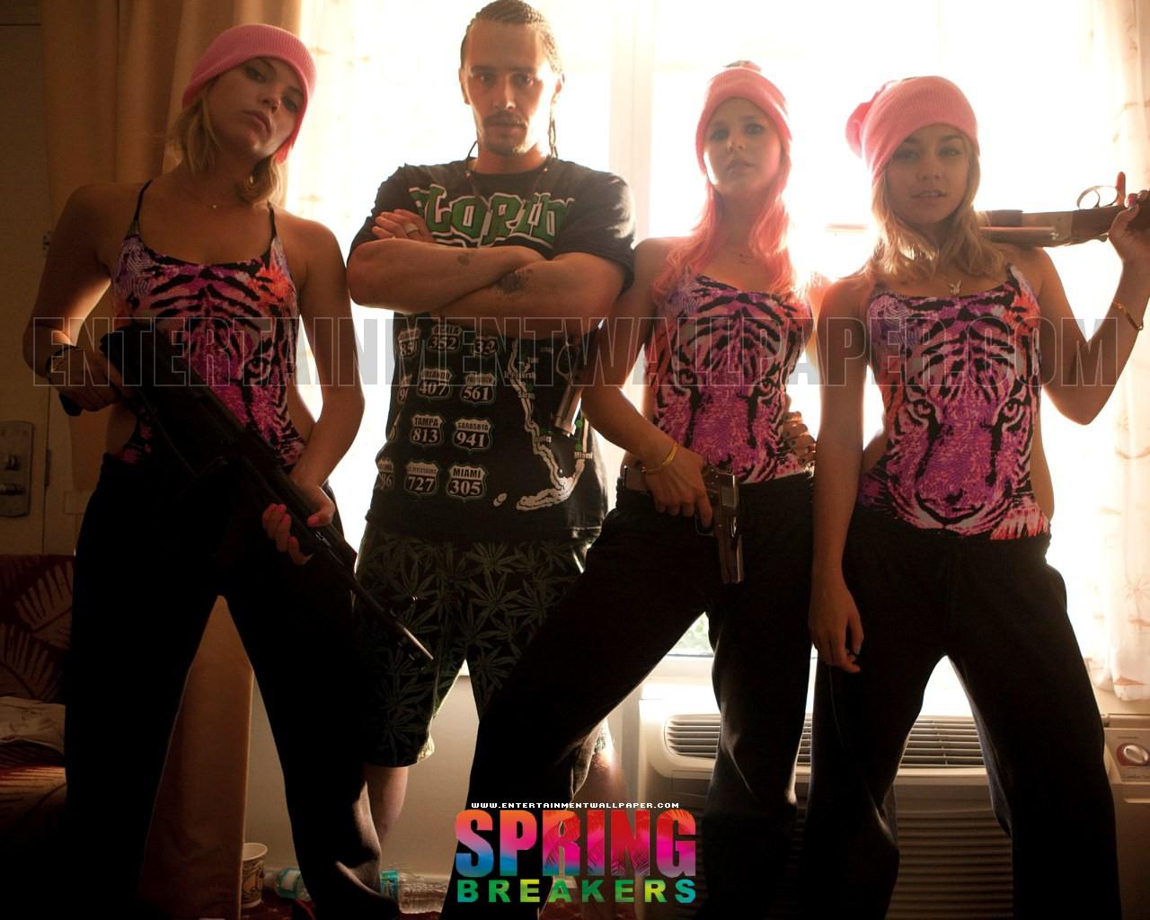Spring Breakers [2013]   Upcoming Movies Wallpaper 34093260 1280x1024