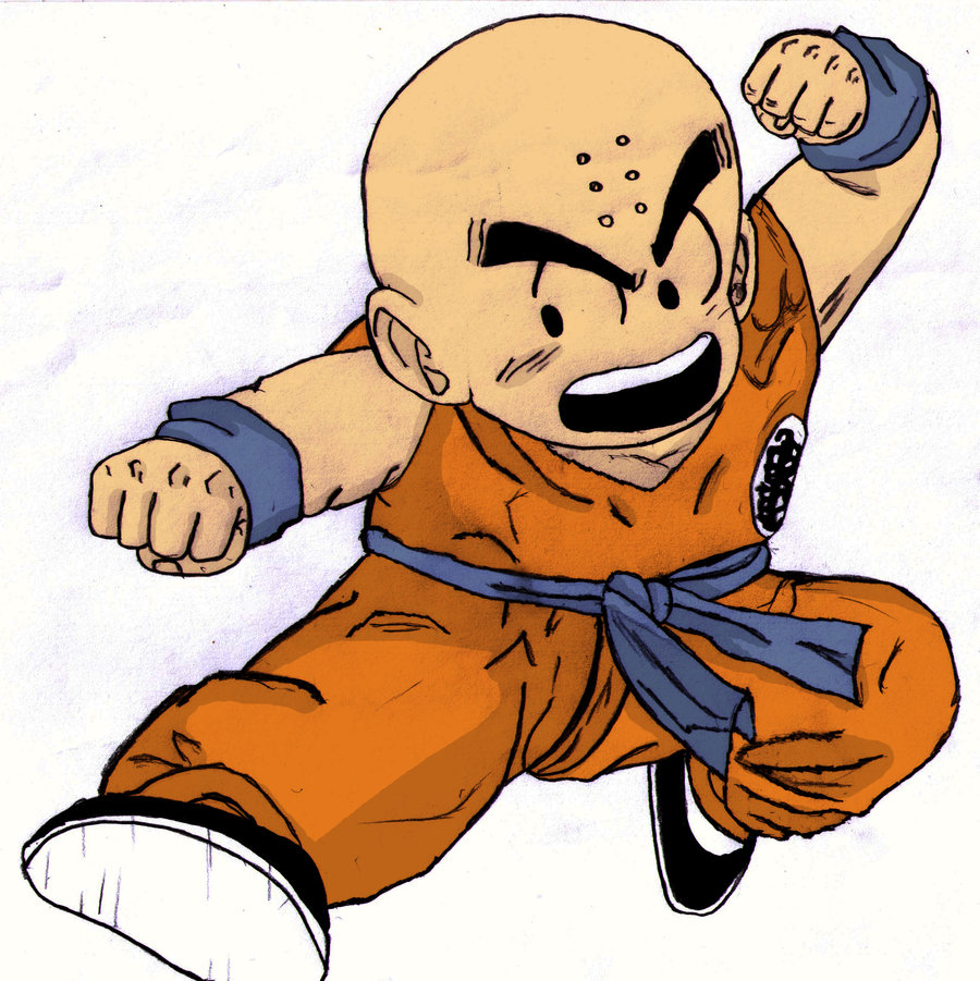 Images Krillin Colour Agebrian Deviantart Wallpaper 900x901