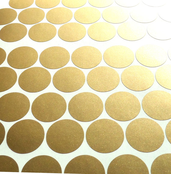 100 Gold Removable Wallpaper polka dots matte gold polka dot stickers 570x582