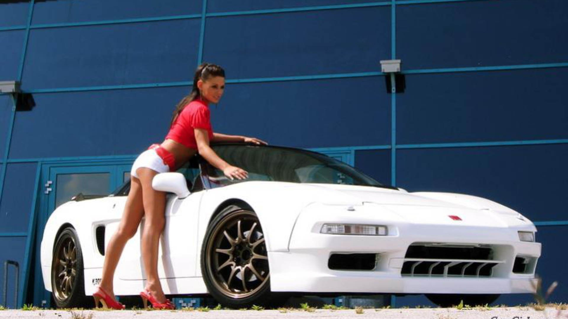 Hot Girl With Car Wallpaper 13   SA Wallpapers 1920x1080