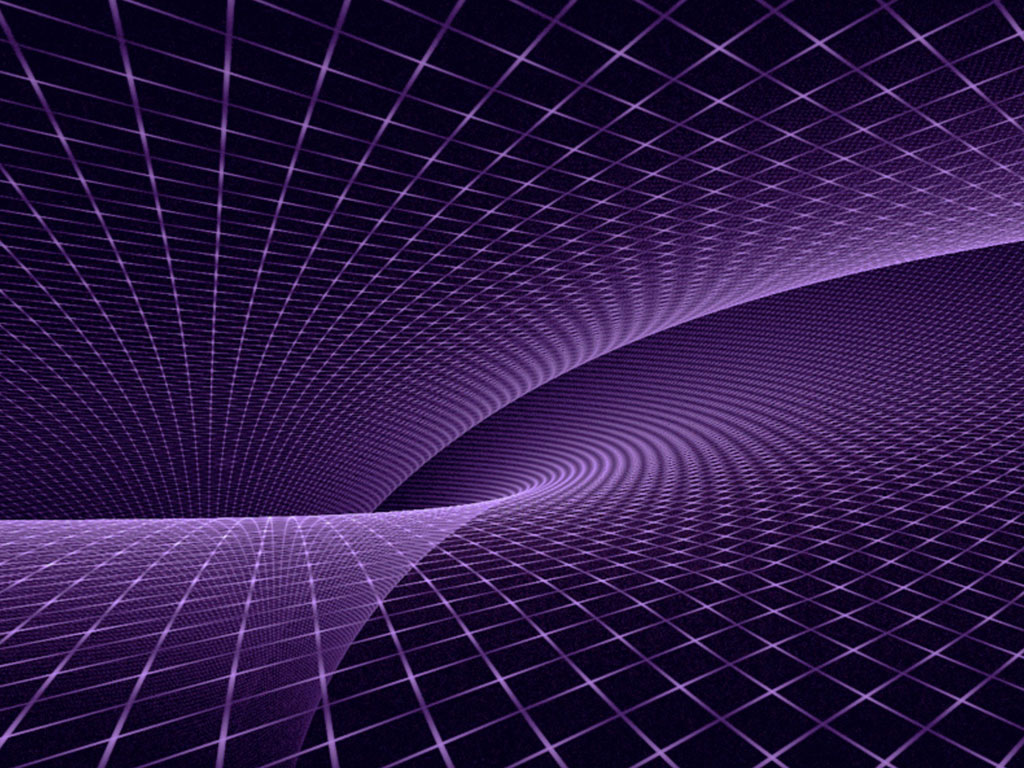 Purple Fractal Wallpaper Background Abstract Wallpapers Dell 1024x768