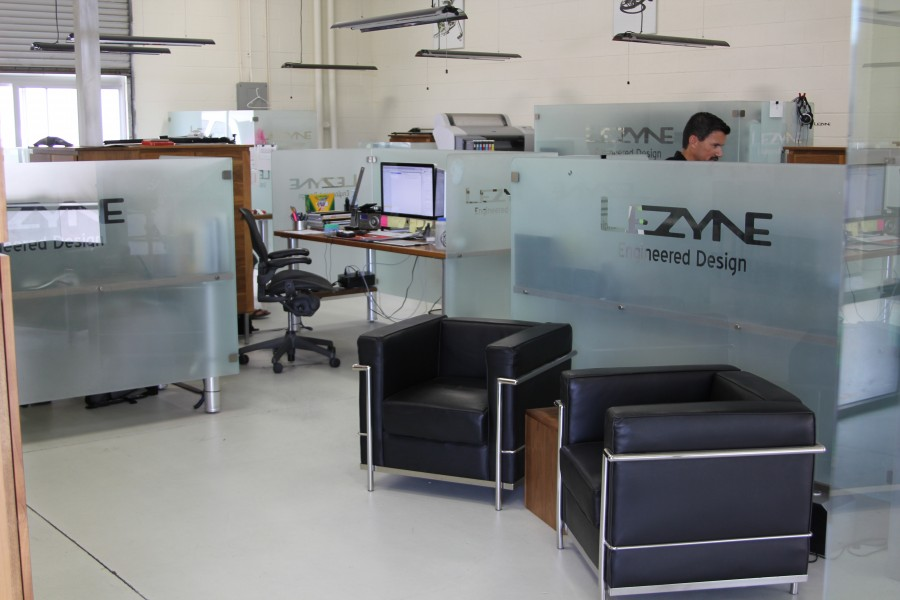 Lezynes office is slick no matter what standard you compare it to 900x600