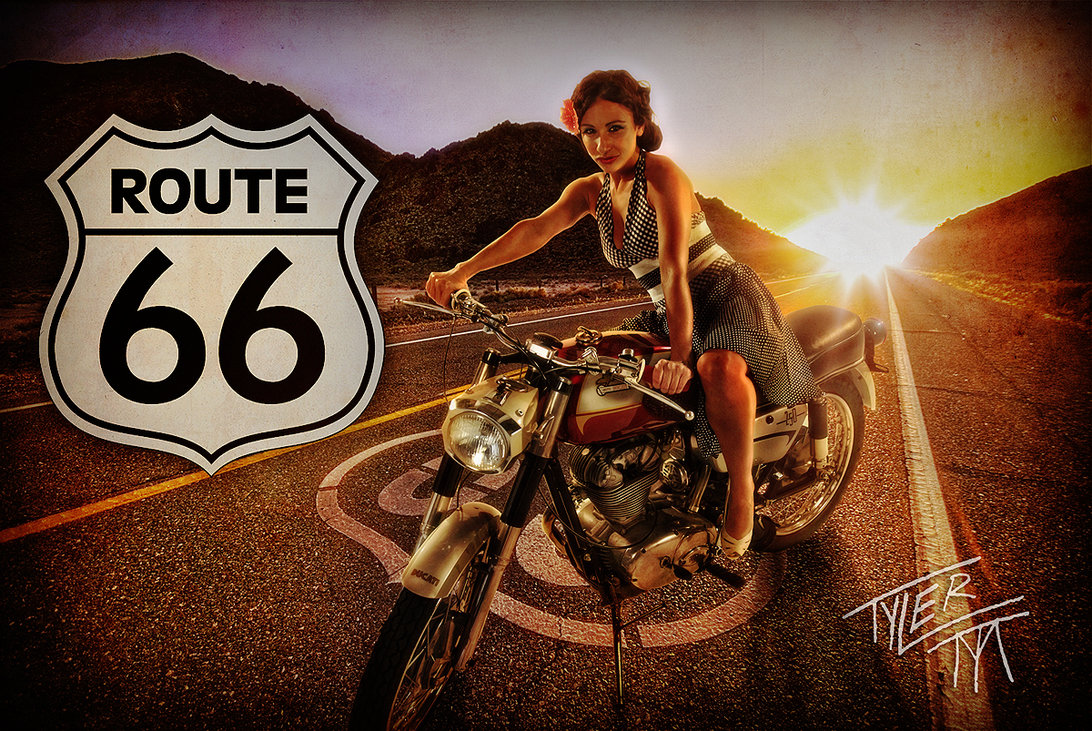 40 Route 66 Wallpaper Vintage On Wallpapersafari