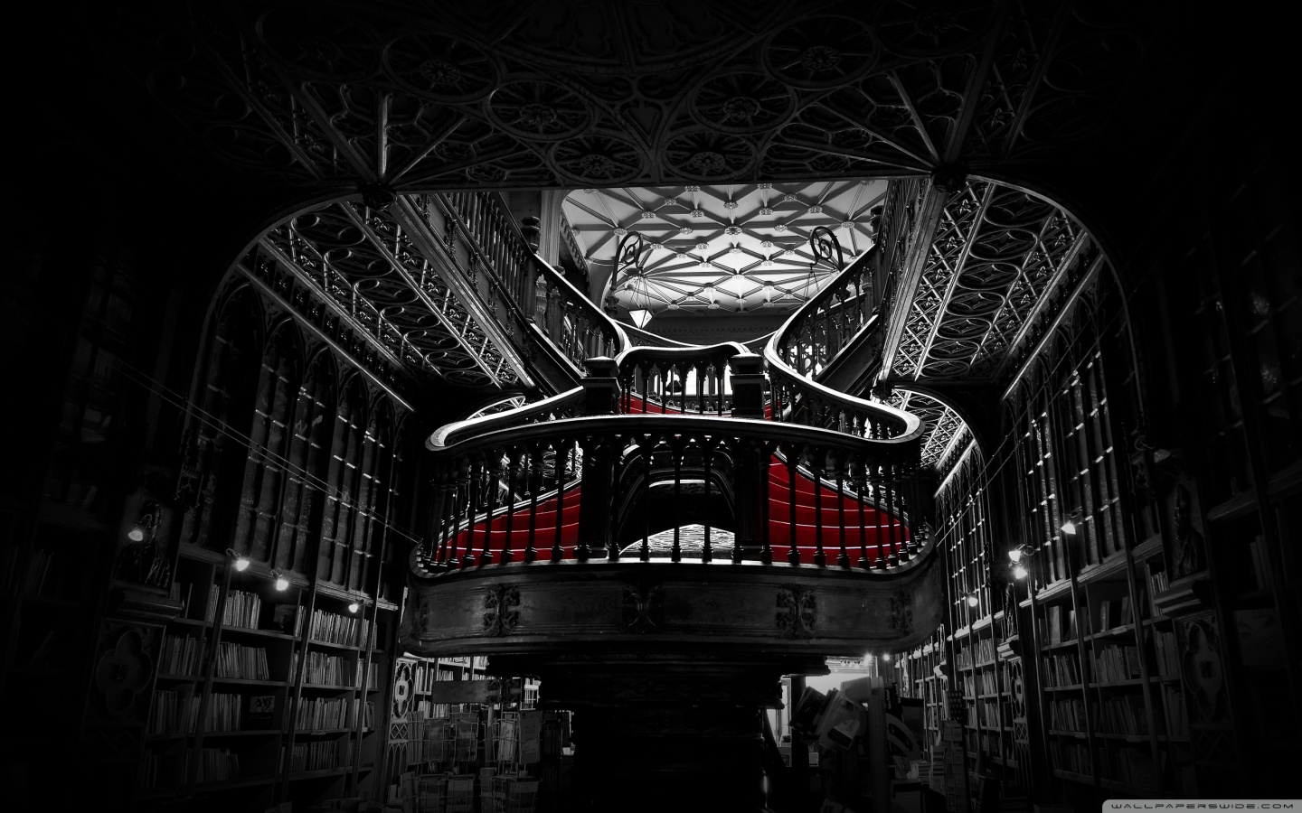 Bookshop in Portugal a wallpaper by Raul Lieberwirth Wallpapers 1440x900