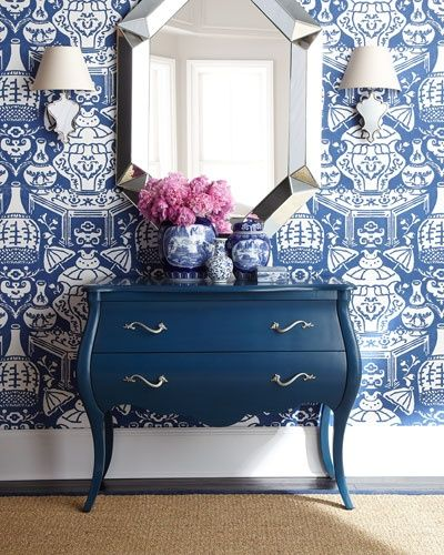 Clarence House The Vase Wallpaper Pinterest 400x500