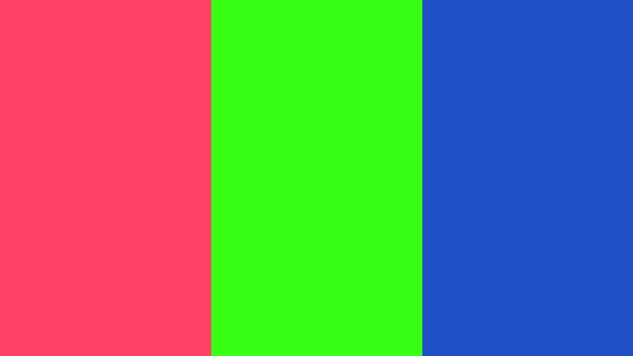 2560x1440 Neon Fuchsia Neon Green and New Car Three Color Background 1280x720