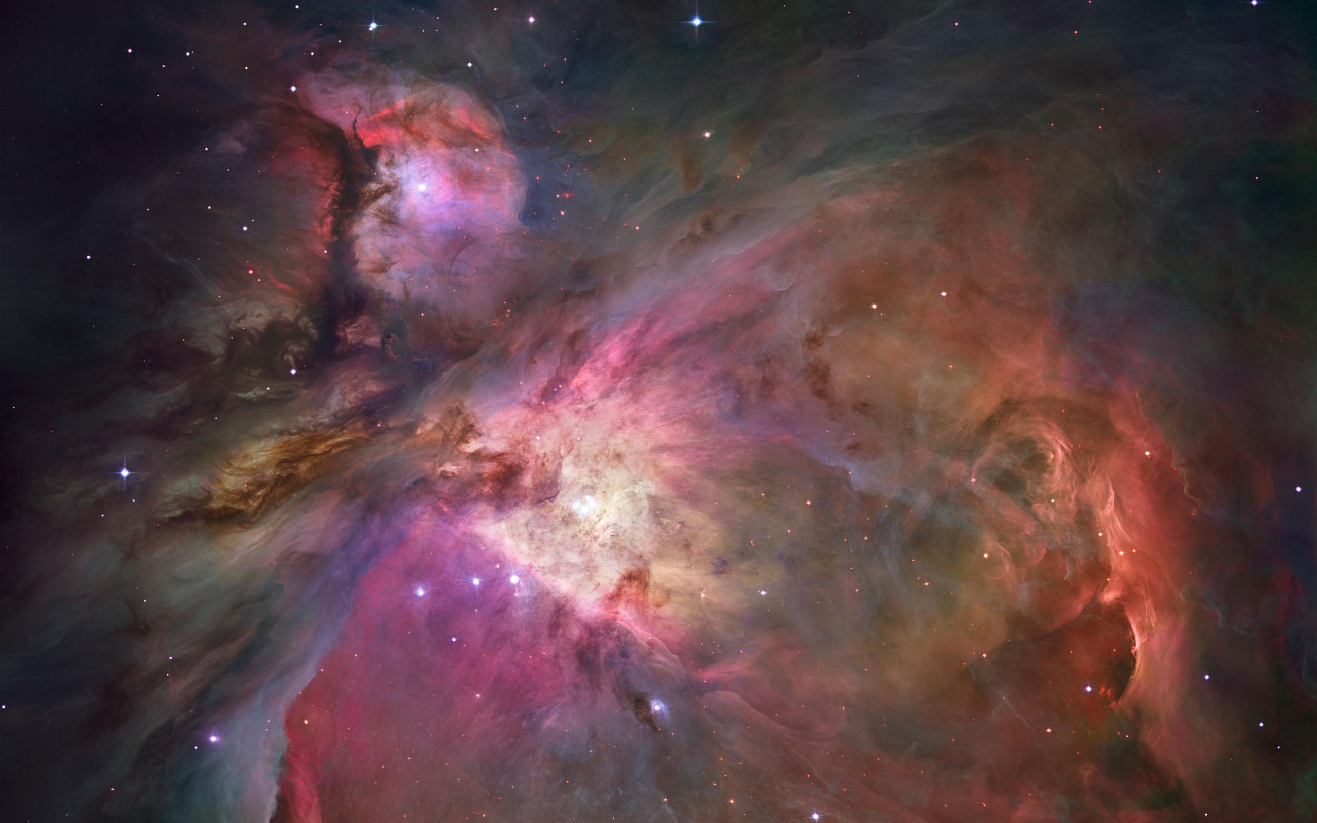 Orion Nebula desktop wallpaper 2560x1600