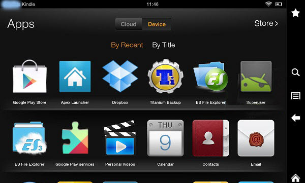 Trick 3 Turn Kindle Fire into Android Tablet 600x361