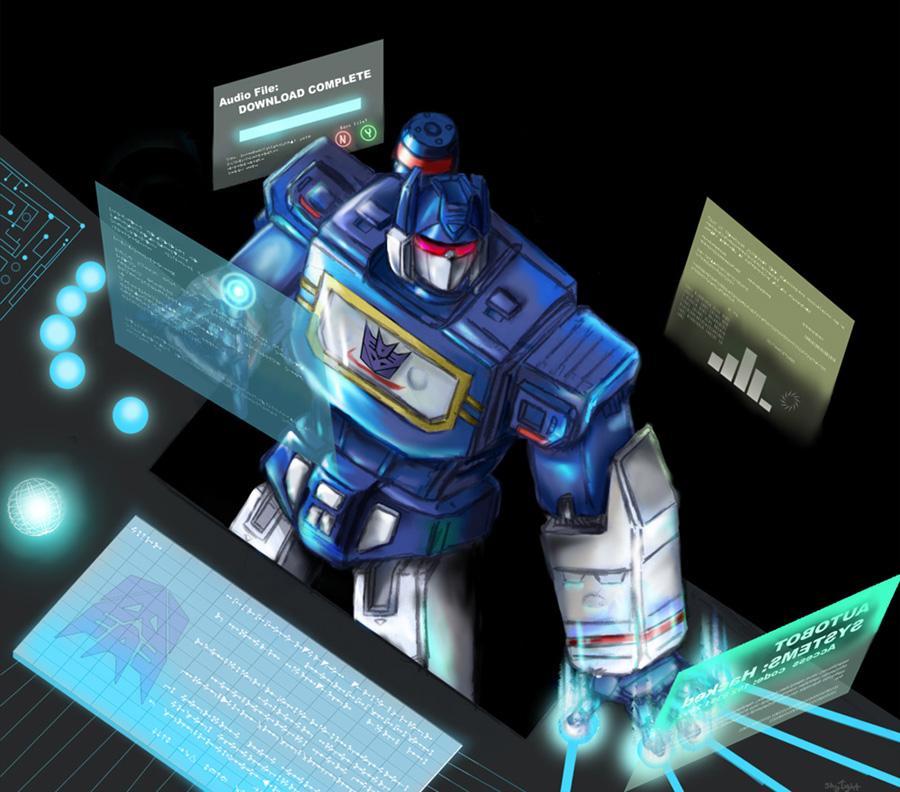 TRANSFORMERS MATRIX WALLPAPERS Soundwave G1 3D 900x792