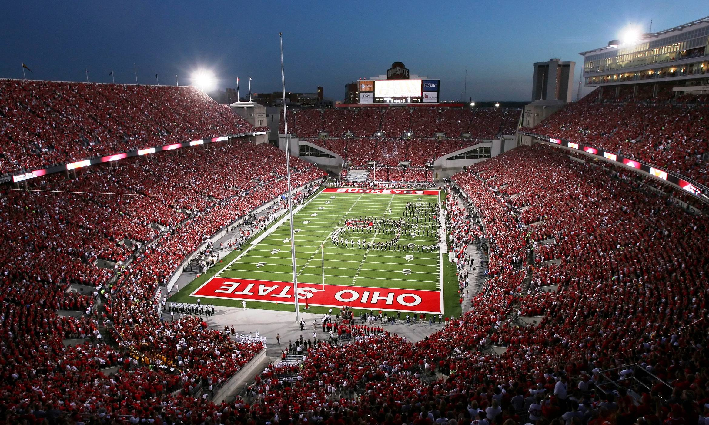 OHIO STATE BUCKEYES college football 23 wallpaper background 2339x1404
