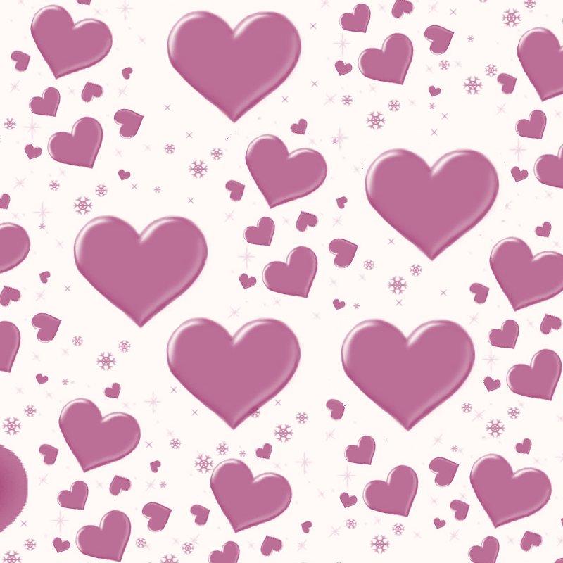 cute hearts background wallpapersafari